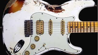 Dirty Blues Rock Guitar Backing Track Jam in E Minor