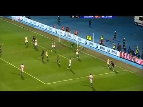 Mario Mandzukic vs Eden Hazard - Croatia vs Belgium
