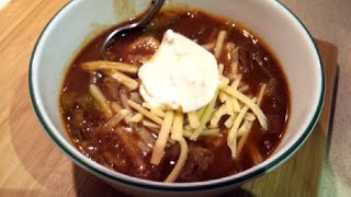 Crockpot Chili (dr Poon / Low-carb / Paleo / Primal)
