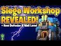 SIEGE MACHINE WORKSHOP REVEALED! + NEW DEFENSE & WALL LEVELS! - Clash of Clans TH12 Update Info!