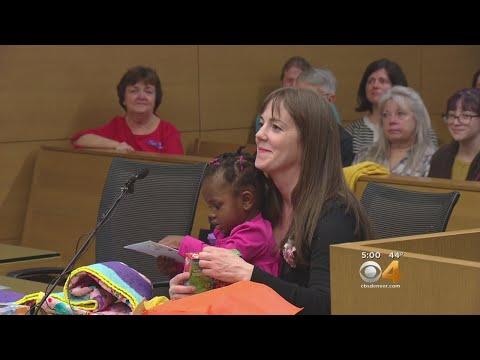 Parents, Children Celebrate Denver Adoption Day