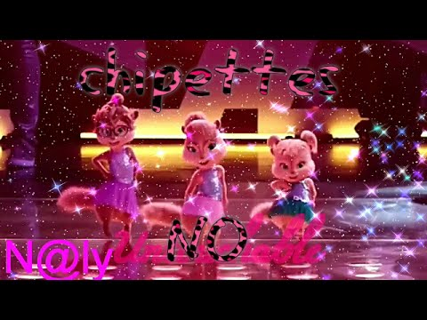 The chipettes - No (music lyrics video)