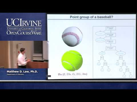 Chemistry 107. Inorganic Chemistry. Lecture 03