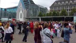 Seifenblasenflashmob Leipzig 14.06.2014 15:00 Augustusplatz