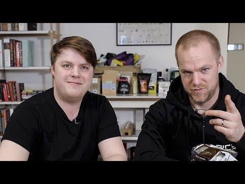 Testar snacks från Australien med Kamera-Andreas