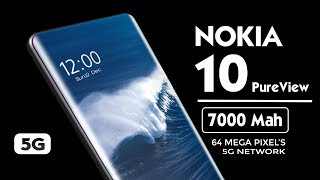 NOKIA 10 PureView 5G (2020) Introduction!!! | 7000 Mah Battery | INDISPLAY Camera