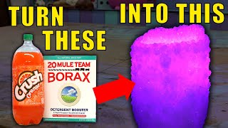 Making a Crystal Lamp (From things in your Kitchen!) | How to make borax crystals