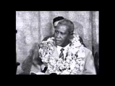 Albert Luthuli Nobel Peace Prize Archive Footage