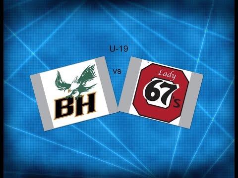 JWHL Balmoral vs Ottawa U-19  2018 ( Rink 7 )
