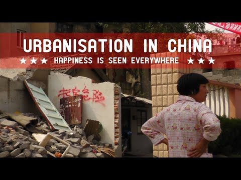 URBANISATION IN CHINA; happiness is seen everywhere (full version | d-film.nl)