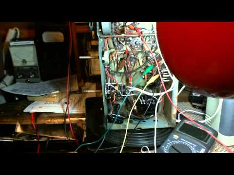 Antique Tube Radio Canadian PYE 39 Video #6 - Troubleshooting the 6SQ7 Detector Circuits