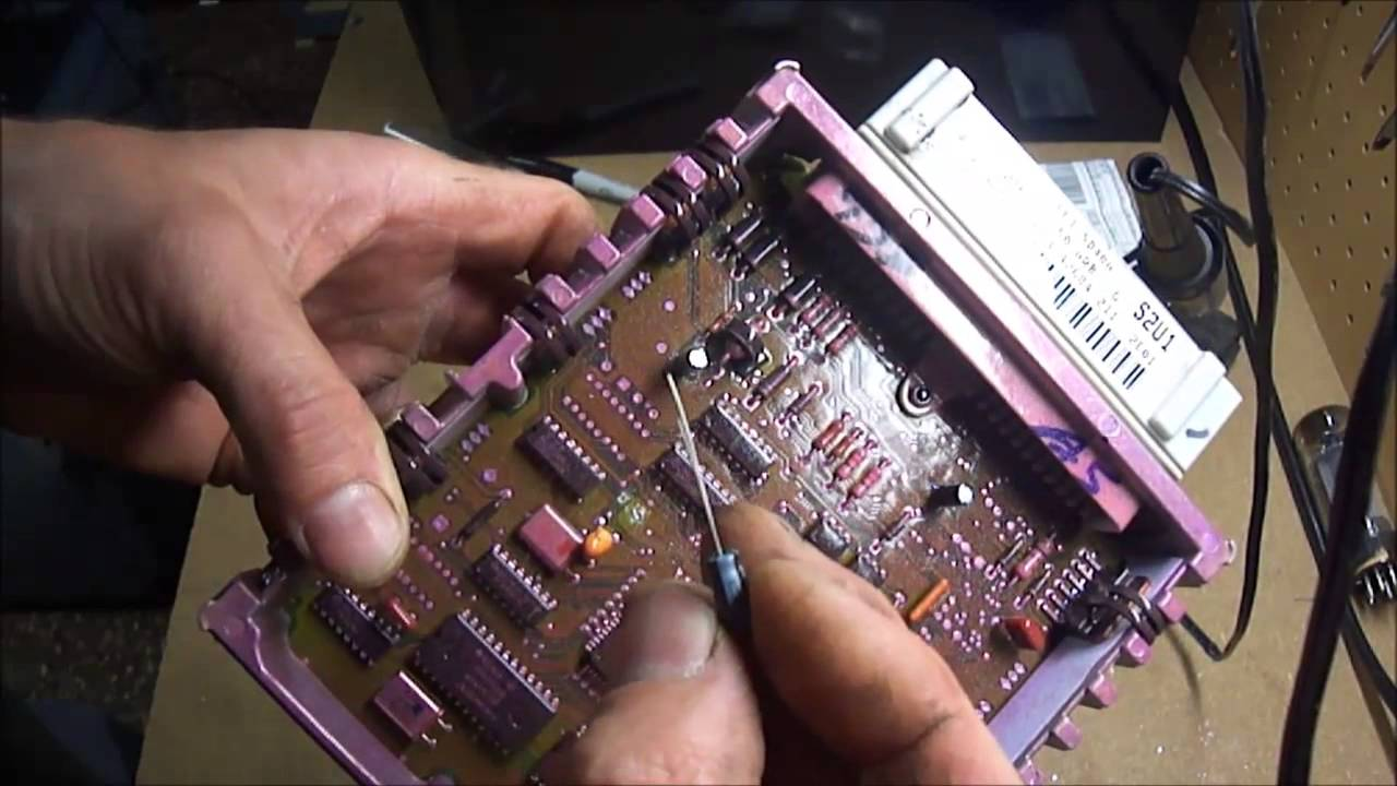 ford obd 1 ecm repair youtube  1994 ford f250 fuse box layout