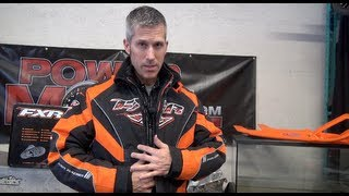FXR Adrenaline X Jacket/pants and the FXR Backshift Boot Review at FirstPlaceParts.com