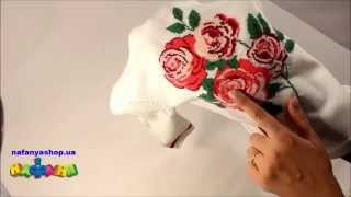 Туника для девочки вязаная молочного цвета рисунок цветы арт 1038(Туника для девочки вязаная молочного цвета рисунок цветы арт 1038 Купить можно в магазине Нафаня по адресу., 2015-10-24T12:20:58.000Z)
