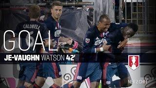 Lamar Hunt U.S. Open Cup Semifinal: New England Revolution vs. Chicago Fire: Je-Vaughn Watson