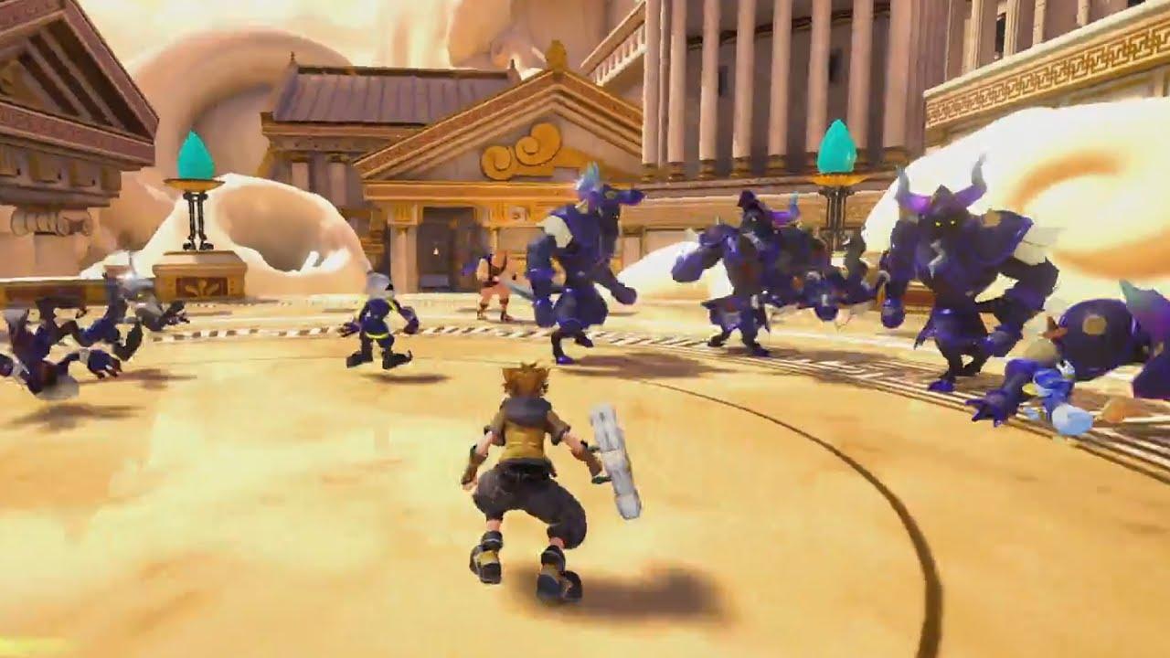 Kingdom Hearts 3 E3 2017 Gameplay Demo & Trailers - YouTube