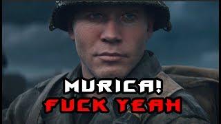 Call of Duty World War 2 Первый взгляд MURICA