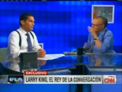 Larry King con Cala CÑÑ