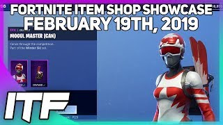 Fortnite Item Shop ALPINE ACE + MOGUL MASTERS ARE BACK! [February 19, 2019] (Fortnite Battle Royale)