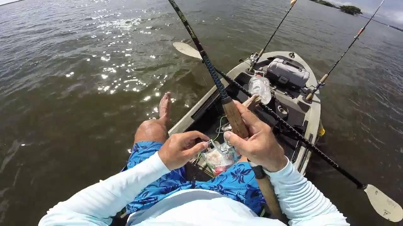 Kayak fishing guide vero beach youtube for Vero beach fishing report