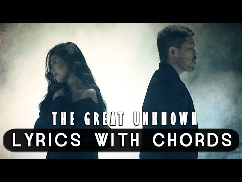 Sarah Geronimo feat. Hale — The Great Unknown [Official Lyric Video with Chords]