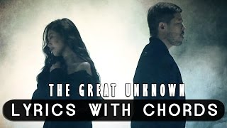 sarah geronimo feat hale — the great unknown official lyric video with chords