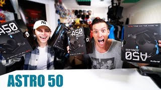 ASTRO 50 WIRELESS GAMING HEADSET UNBOXING - TEST + VERLOSUNG