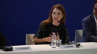 Julianne Moore on Suburbicon