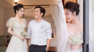 Loạt ảnh đính hôn của Trường Giang và Nhã Phương lần đầu tiên được hé lộ sau 1 năm về chung nhà