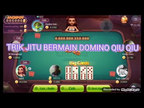Trik Jitu Main Domino Qiu Qiu Menang Terus Youtube
