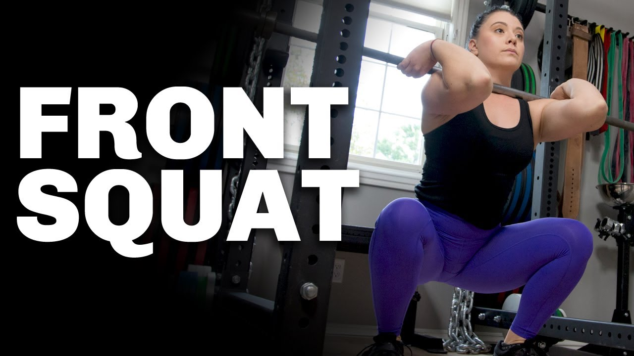 How To Front Squat Barbell Logic