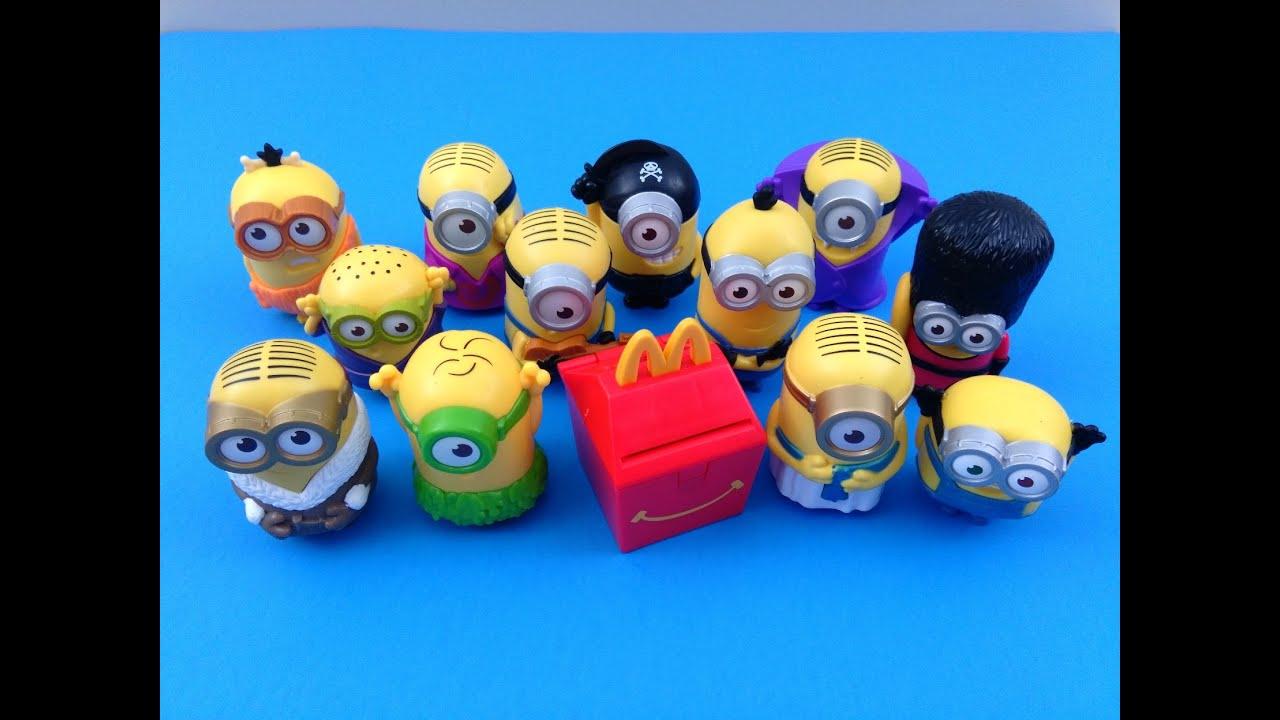 TALKING MINION PIRATE #7 McDonald/'s 2015 happy meal toys Minions