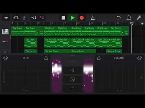 Drum & Bass - GarageBand - iPhone作曲