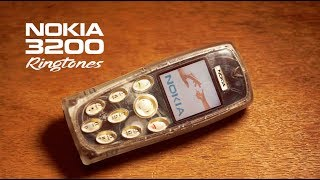 NOKIA 3200 ringtones | 4K  🎼🎵 🎶