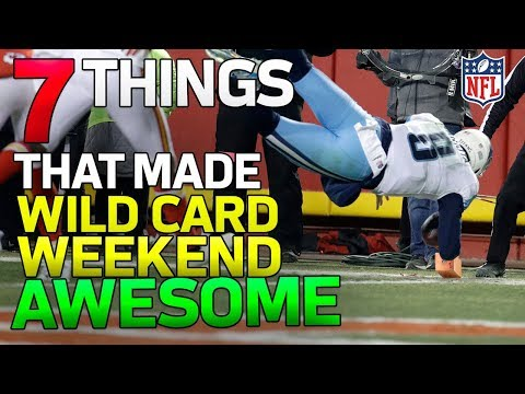 7 AWESOME Things from Wild Card Weekend! | NFL Highlights