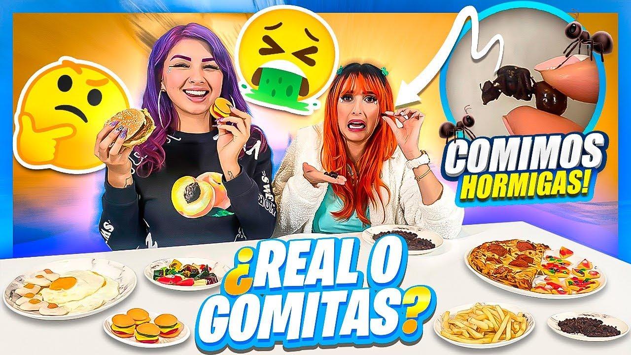 Download COMIDA DE GOMITA vs COMIDA REAL - Coloridas