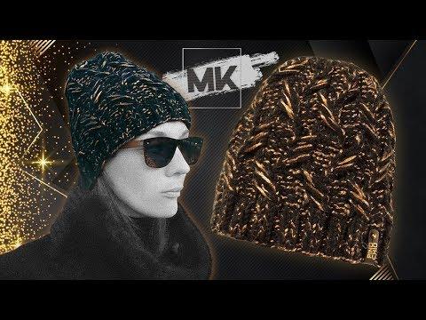 ТЕПЛАЯ ЗИМНЯЯ ШАПКА ПОД ШУБУ И ПАЛЬТО / Подробный МК по вязанию женской шапки спицами