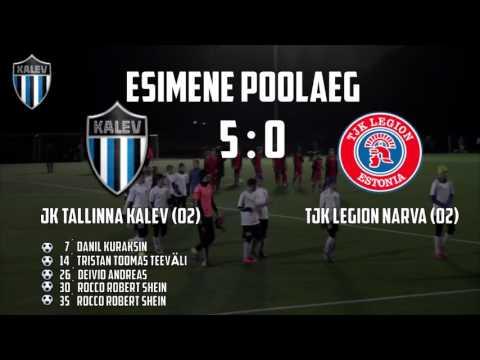 C2-A XVI voor: JK Tallinna Kalev (02) - TJK Legion Narva (02)