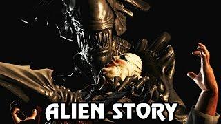 Let's Play Mortal Kombat X Deutsch #32 - Alien Story Fatality X-Ray