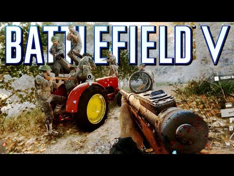 Battlefield 5 New Map Marita! TheBrokenMachine's Chillstream 60 fps multiplayer Gameplay thumbnail