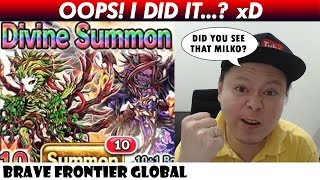 Oops! I Did It !? Rare Summon For Barion (Brave Frontier Global)