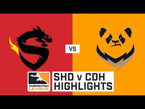 HIGHLIGHTS Shanghai Dragons vs. Chengdu Hunters   Stage 1   Week 3   Day 2   Overwatch League
