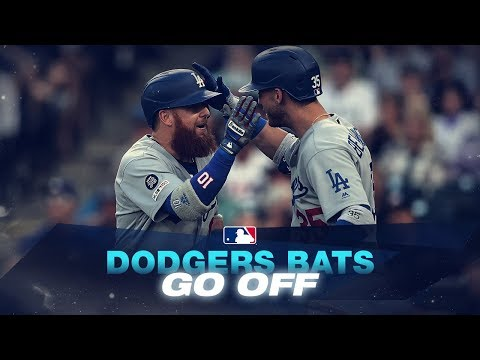 Dodgers CRANK 6 home runs in 1 game!