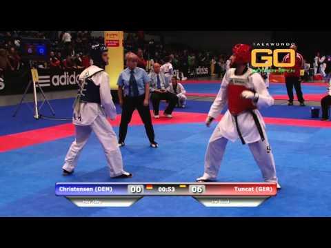 GO2016 Levent Tuncat vs Christensen -58Kg (HD)