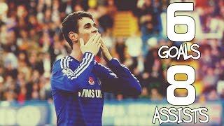 Oscar Dos Santos ● 6 Goals & 8 Assists - Season 2014/15
