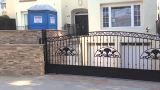 Mulholland Security's Gates Los Angeles Build For Contractor