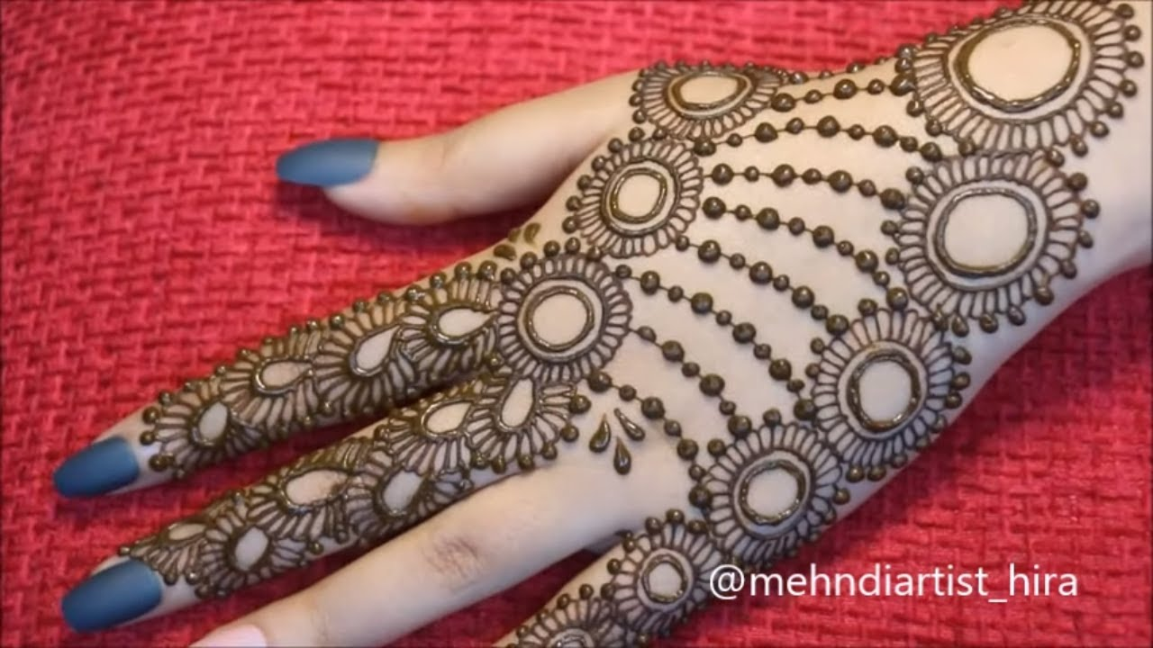 new design of mehndi 2020