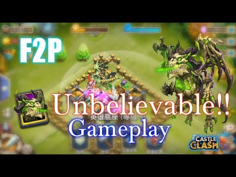 UNBELIEVABLE-F2P Getting Skeletica And Gameplay!! Castle Clash