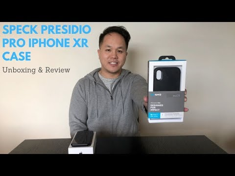 Speck Presidio Pro iPhone XR Case - Unboxing & Review!