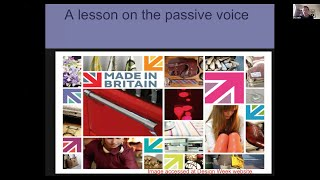 A Lesson on the Passive Voice with Paul Breen